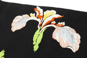 龍村平蔵製 夏袋帯「かきつばた」のサブ5画像