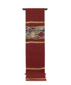 龍村平蔵製 袋帯「コプト葡萄段文」のメイン画像