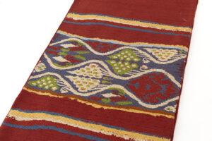 龍村平蔵製 袋帯「コプト葡萄段文」のサブ1画像
