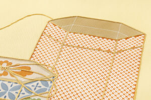 ぎをん齋藤製 塩瀬名古屋帯「貝桶」のサブ3画像