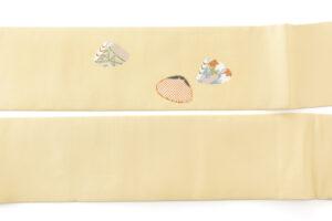 ぎをん齋藤製 塩瀬名古屋帯「貝桶」のサブ5画像